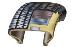 用于橡胶金属加固的电线